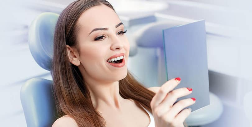 Women happy for root canal treatment